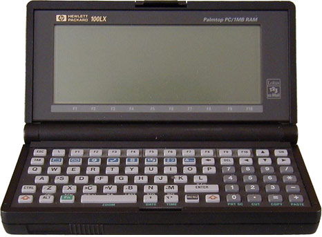 Hewlett-Packard 100LX 2MB RAM  (HP Cougar)