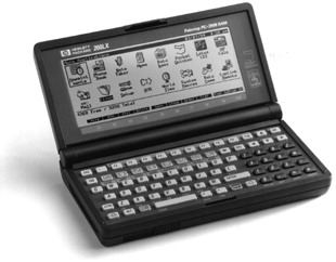 Hewlett-Packard 200LX  (HP Felix)