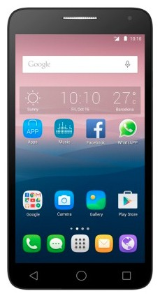 Alcatel One Touch Pop 3 5.5 3G Dual SIM 5025D