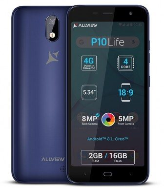 Allview P10 Life Dual SIM TD-LTE EMEA Detailed Tech Specs