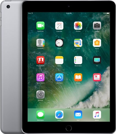 Apple iPad 9.7-inch 2017 5th gen A1823 TD-LTE CN 128GB  (Apple iPad 6,12)