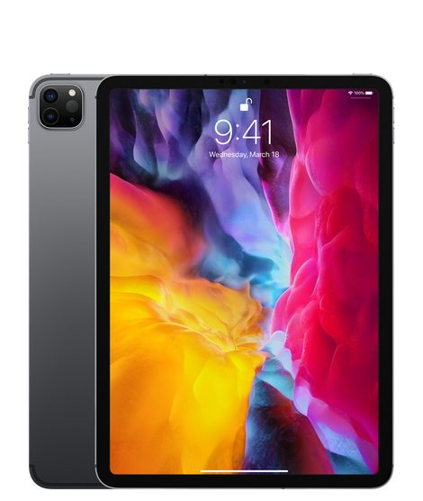 Apple iPad Pro 11-inch 2020 4th gen A2068 Global TD-LTE 256GB  (Apple iPad 8,10)