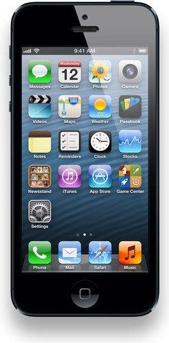 iPhone 5 (Latest Model) - 64GB - Black (Verizon) i Phone, NO Contract