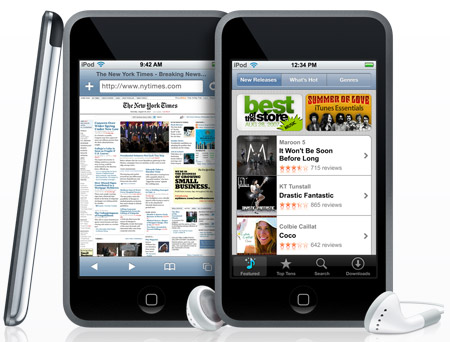 apple ipod touch pictures