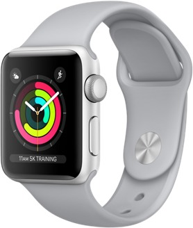 Apple Watch Series 3 38mm TD-LTE AM A1860  (Apple Watch 3,1)