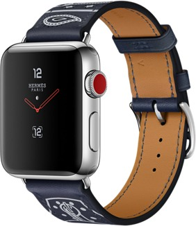 Apple Watch Series 3 Hermes 38mm Global LTE A1889  (Apple Watch 3,1)