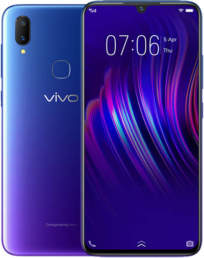 BBK Vivo V11i Dual SIM TD-LTE TW 128GB  (BBK V1813) Detailed Tech Specs