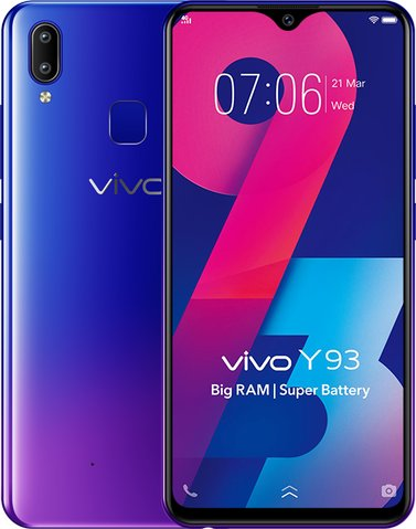 BBK Vivo Y93 Dual SIM TD-LTE IN 1815  (BBK 1815) Detailed Tech Specs
