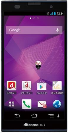 NTT DoCoMo Fujitsu Arrows NX F-06E | Device Specs | PhoneDB