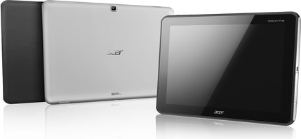 ACER ICONIA TAB A701 A700 BLACK SILVER FRONT BACK