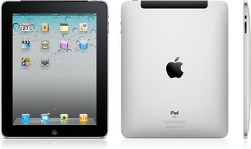 apple ipad 3g front back side