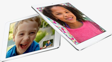 APPLE IPAD AIR FACETIME HERO