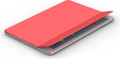 APPLE IPAD AIR SMART GALLERY WHITE COVER PINK