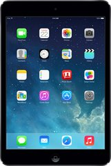 apple ipad mini 2 front black