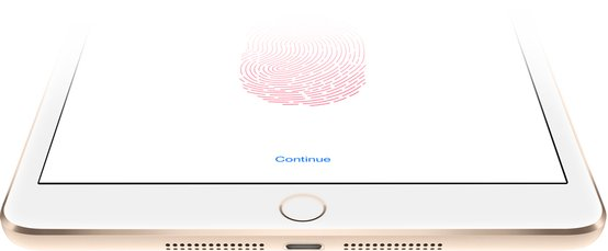 APPLE IPAD MINI 3 TOUCH ID