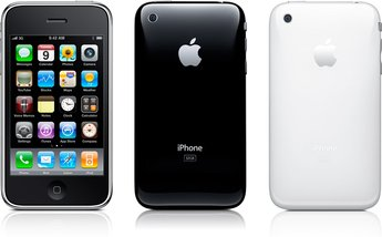 APPLE IPHONE 3G S FRONT BACK