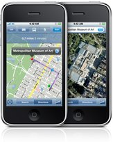 APPLE IPHONE 3G S MAPS