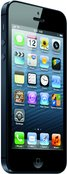 APPLE IPHONE 5 34L BLACK PRINT ATT