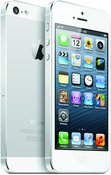 APPLE IPHONE 5 ANGLEDSHARP FRONT BACK WHITE PRINT ATT
