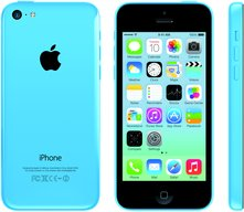 APPLE IPHONE 5C A1456 BLUE FRONT BACK RIGHT