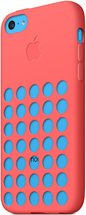 APPLE IPHONE 5C CASES BACK ANGLE BLUE PINK