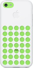 APPLE IPHONE 5C CASES IMAGE GREEN WHITE
