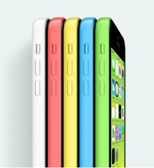 apple iphone 5c colors right angle