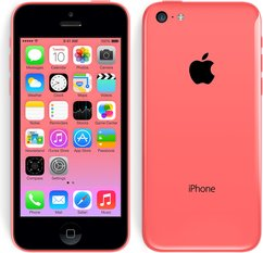 apple iphone 5c front back pink