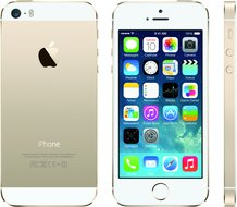 APPLE IPHONE 5S A1453 GOLD FRONT BACK RIGHT
