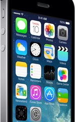 APPLE IPHONE 5S GREY FRONT RIGHT