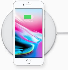 apple iphone 8 charging dock front