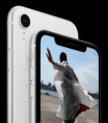 apple iphone xr double back white