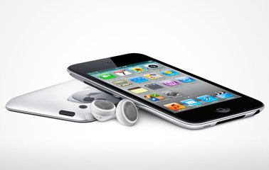 apple ipod touch 2nd generation front angle