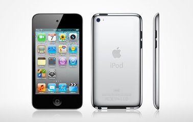 apple ipod touch 2nd generation front back side