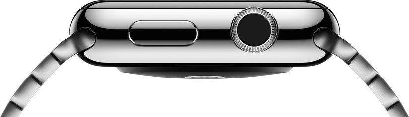 apple watch side