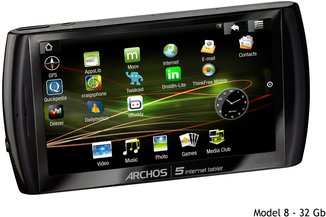 ARCHOS 5 INTERNET TABLET 8 32GB
