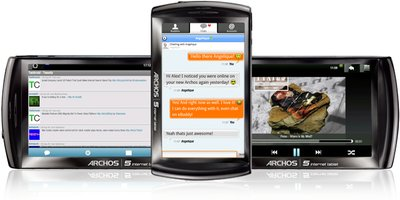 ARCHOS 5 INTERNET TABLETS