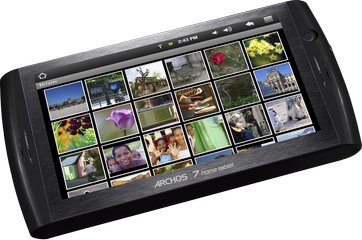 ARCHOS 7 HOME TABLET PHOTO