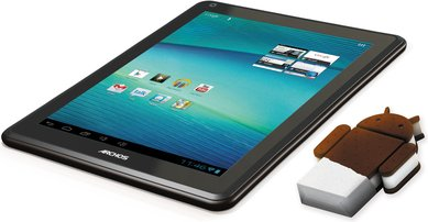 ARCHOS ELEMENTS 97 CARBON RUNS ANDROID 4.0