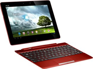 ASUS TRANSFORMER PAD 300 RED WITH DOCK
