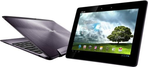 ASUS TRANSFORMER PAD INFINITY GREY OPEN