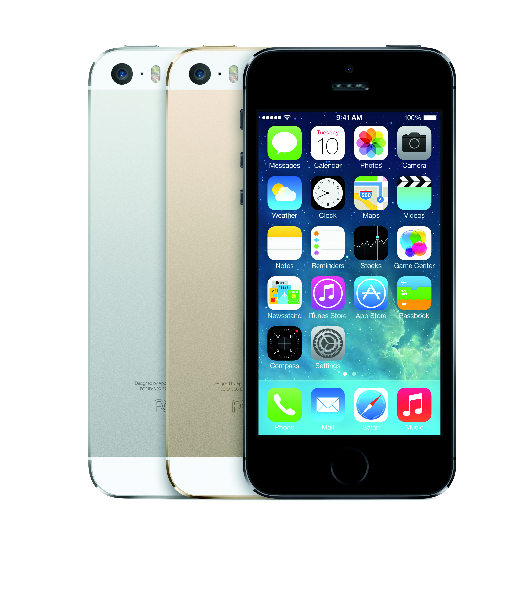 Apple Iphone 5s Gallery Apple Iphone 5s 3color Ios7