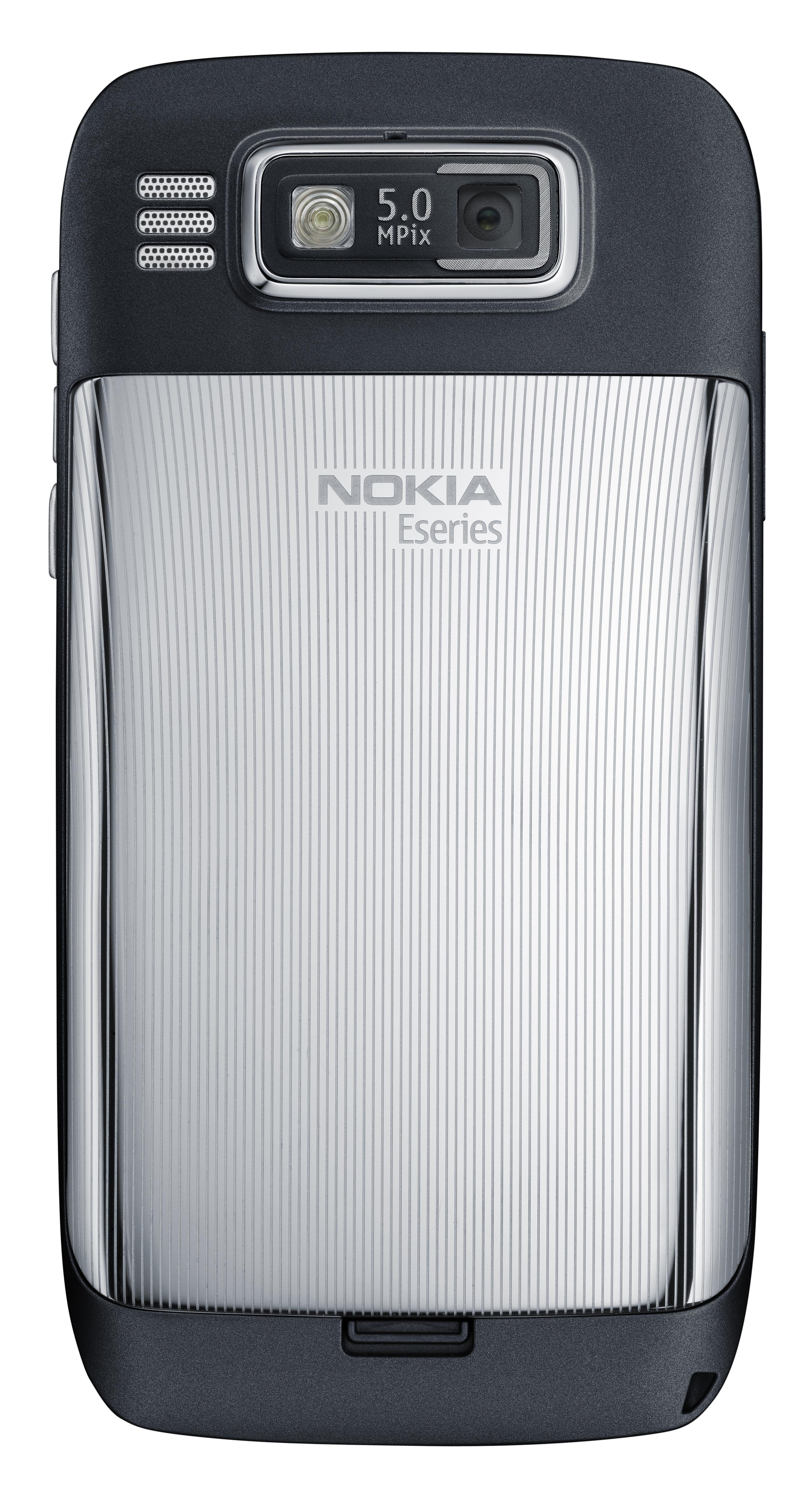 Nokia E Black Back