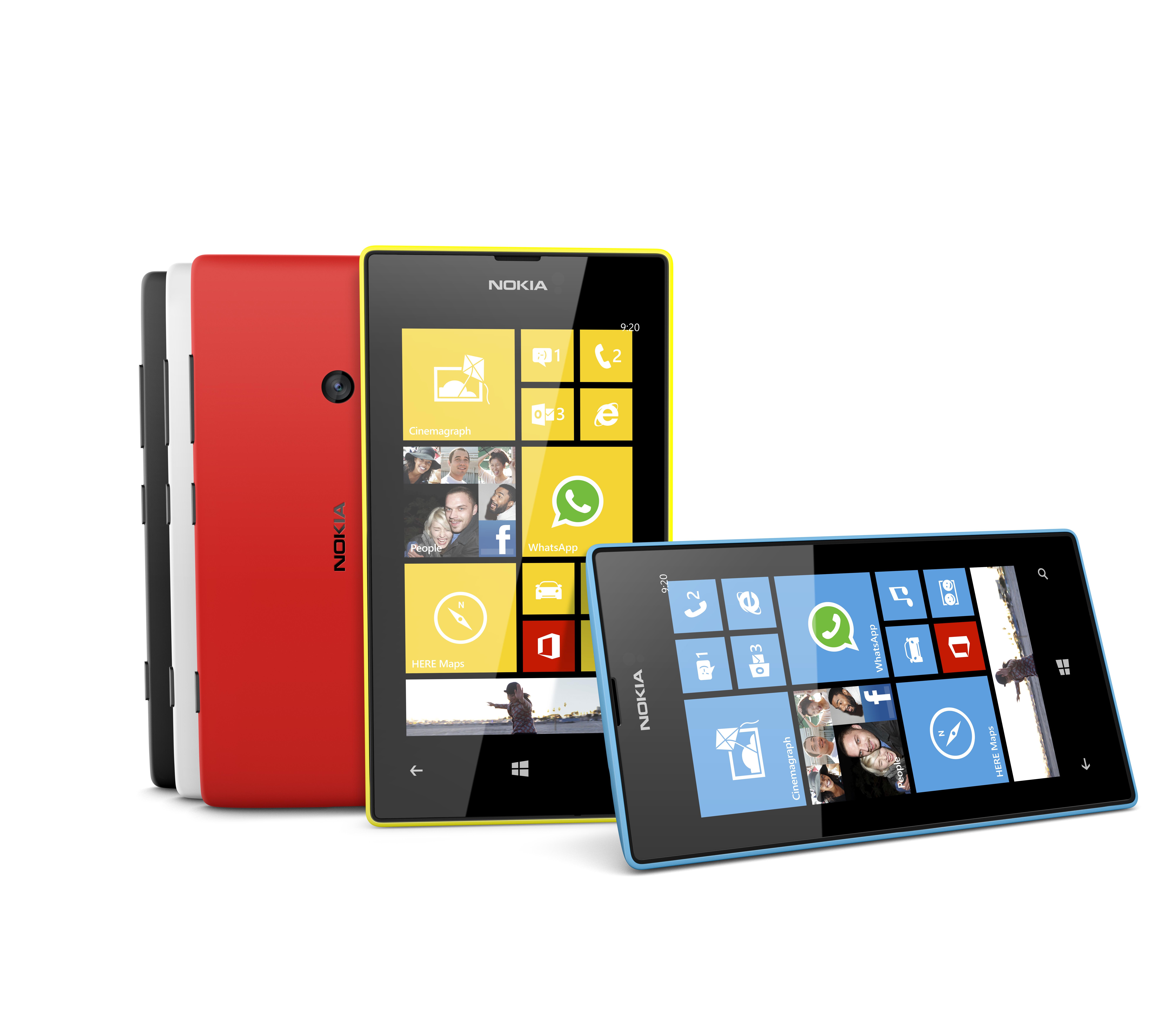 Photo Nokia Lumia 520 Color Range 2 Jpg 8000 X 7000