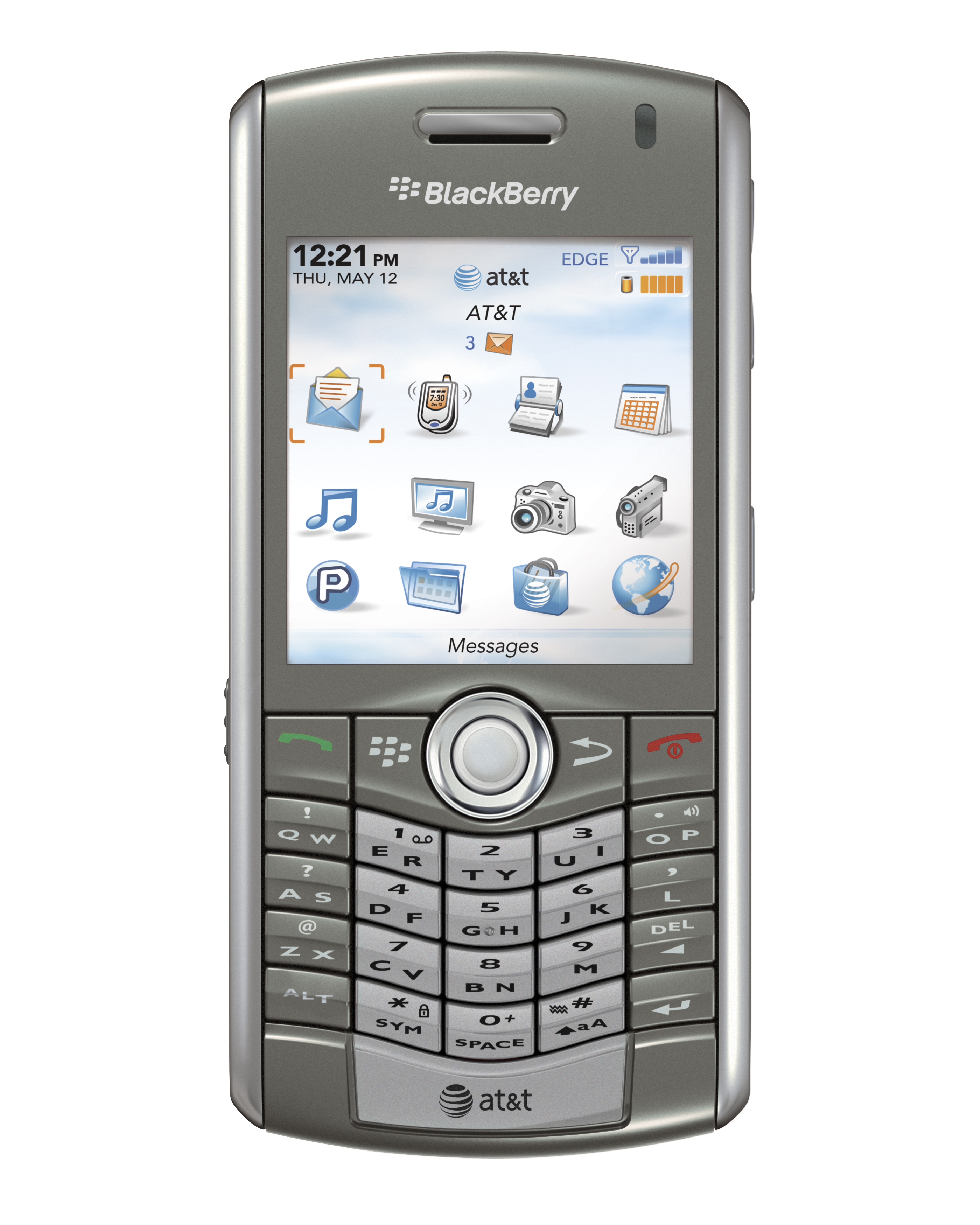 Blackberry pearl 8100 mobile phones images blackberry pearl 8100 - Rim Blackberry Pearl 8110 Front