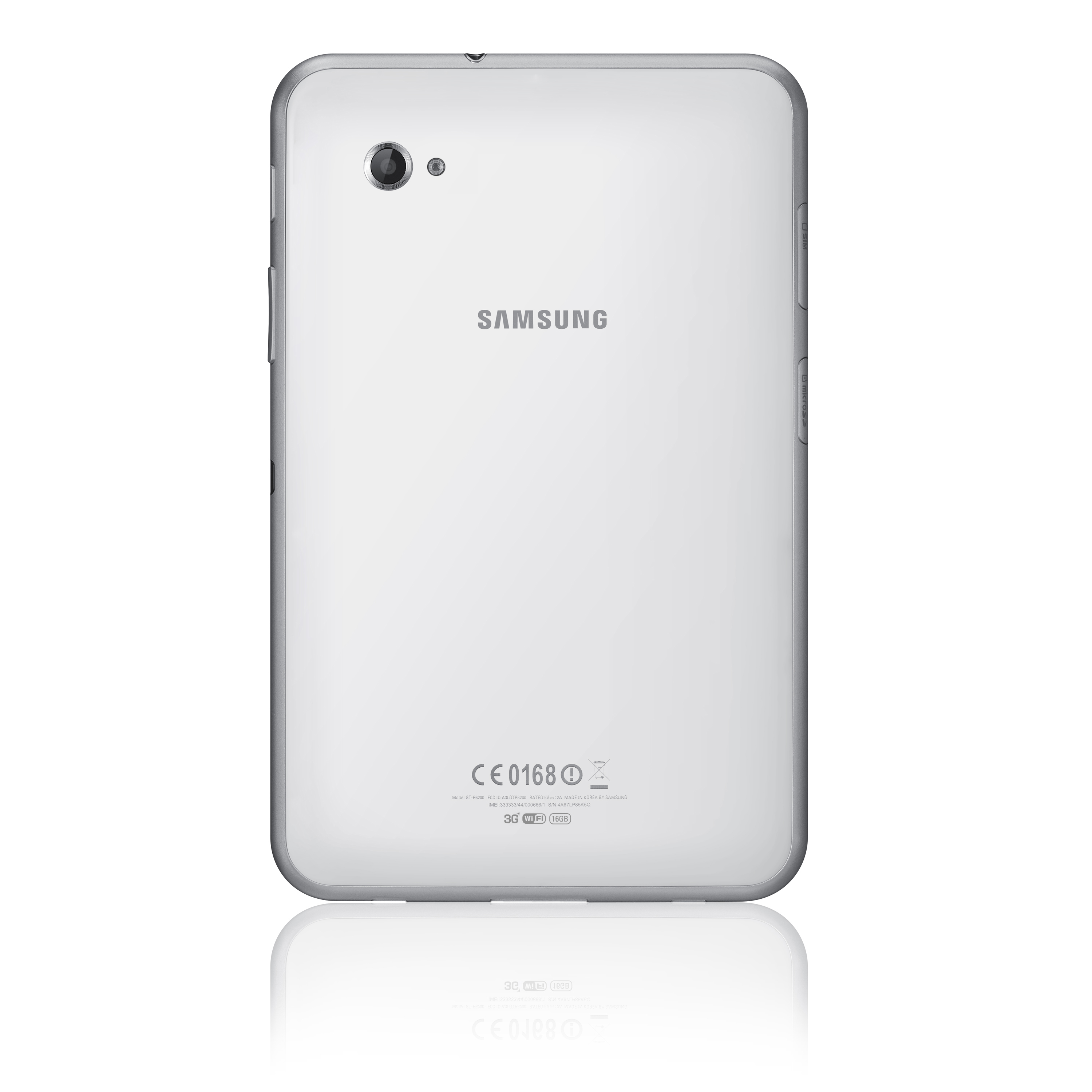 SAMSUNG GALAXY TAB 7.0 PLUS PRODUCT IMAGE WHITE BACK image ...