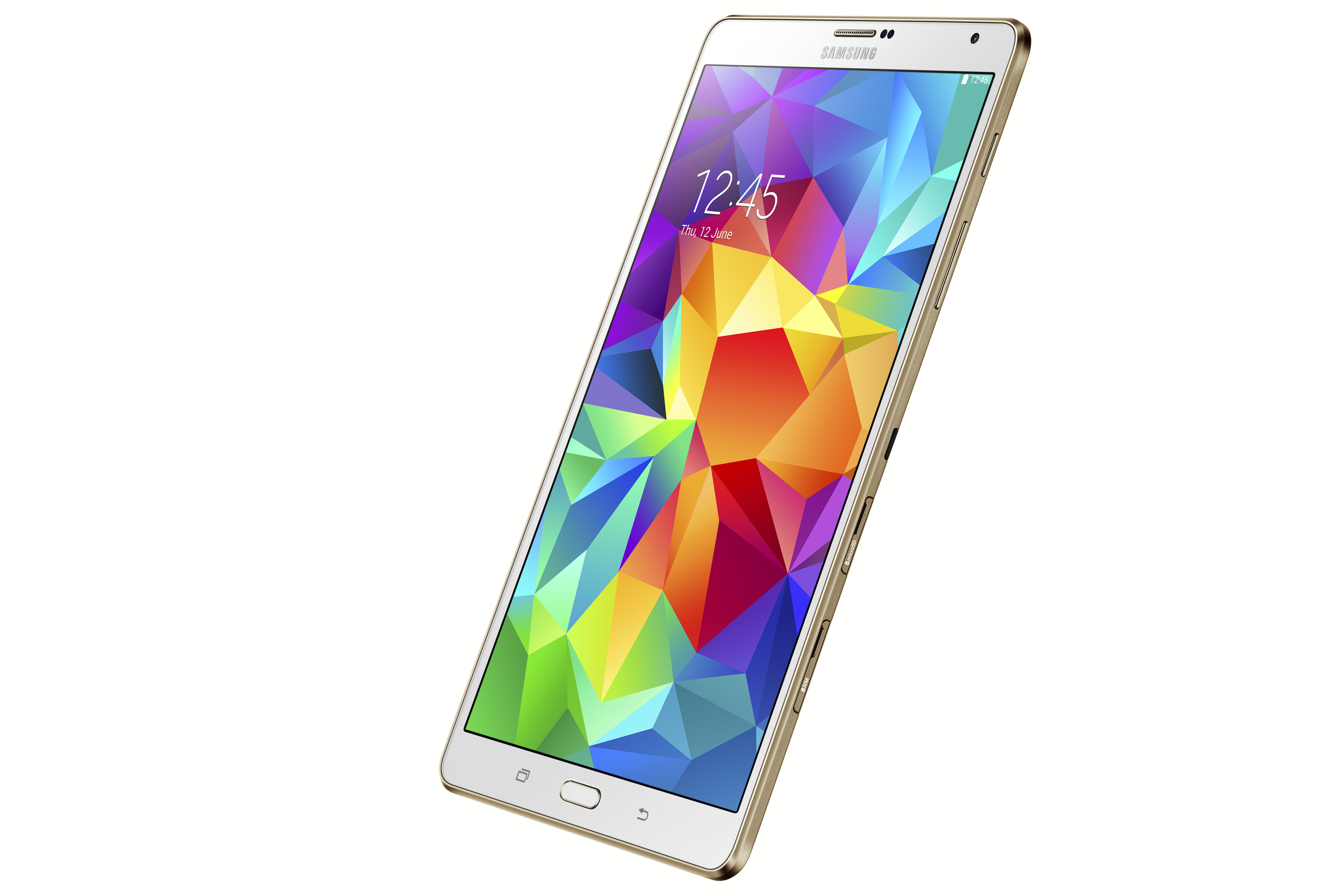 Photo samsung galaxy tab s 8 4 inch dazzling white for Samsung galaxy 4 tablet