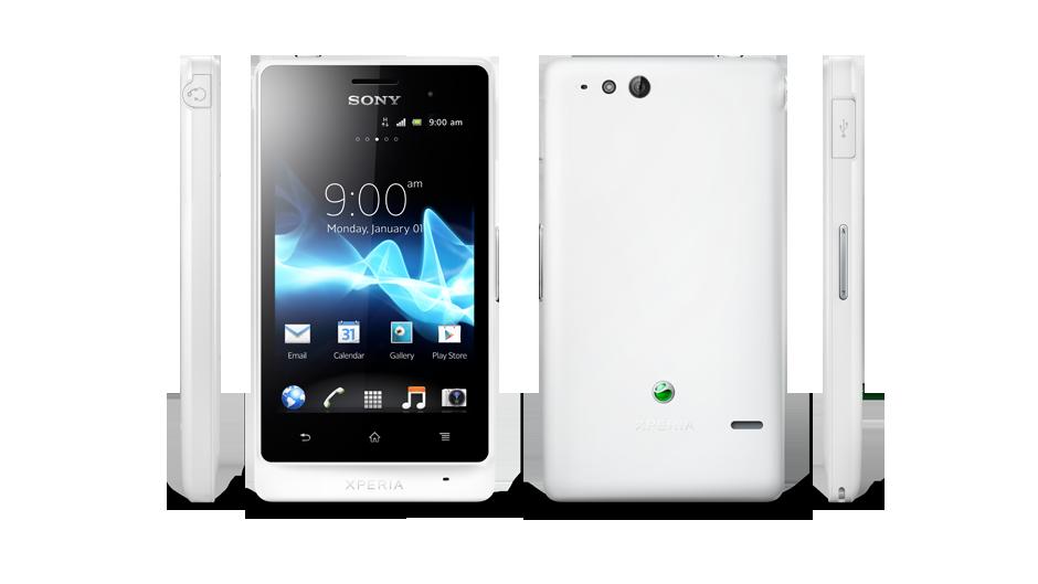 Sony Xperia St27i White Sony Xperia go White Views