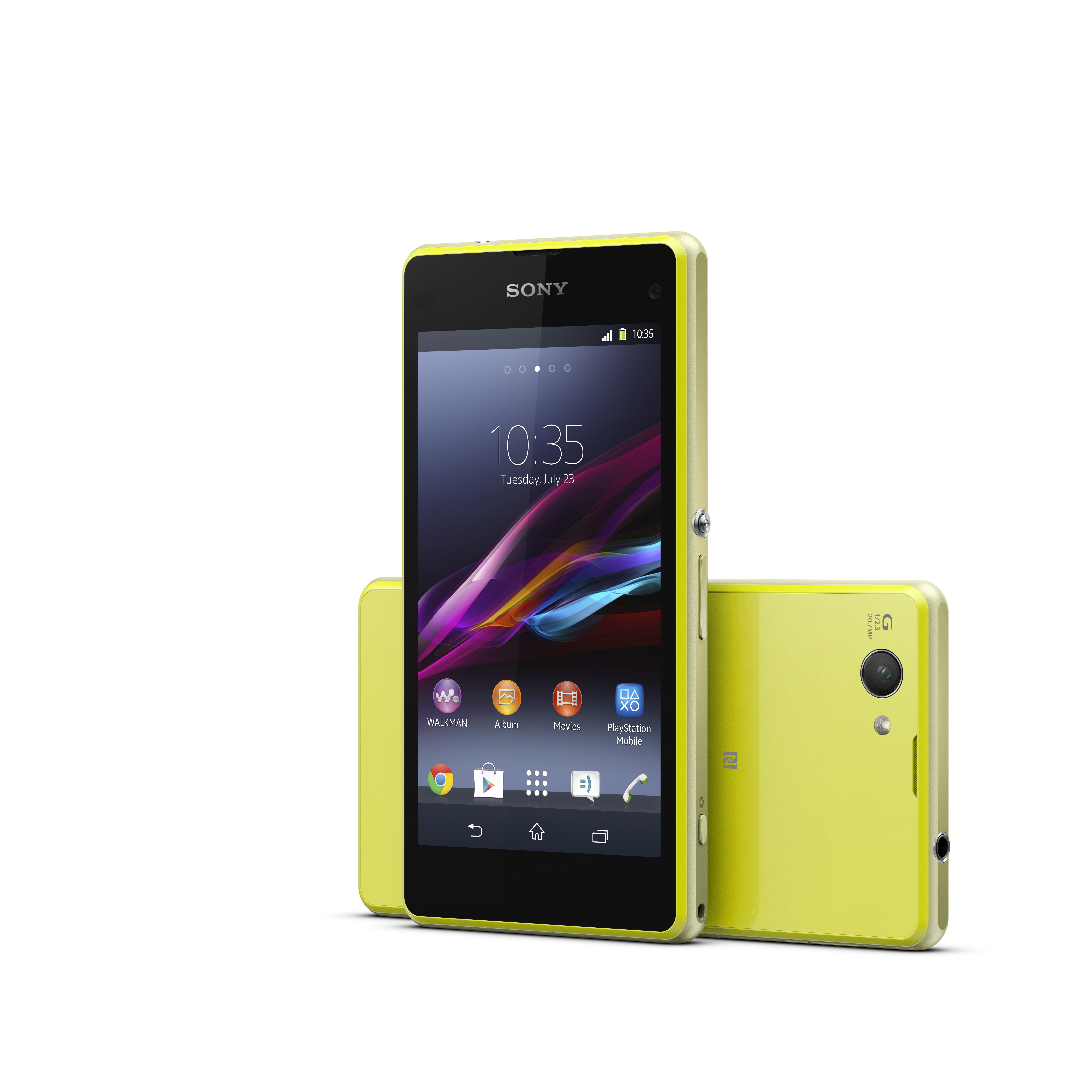 photo sony xperia z1 compact lime 7000 x 7000. Black Bedroom Furniture Sets. Home Design Ideas