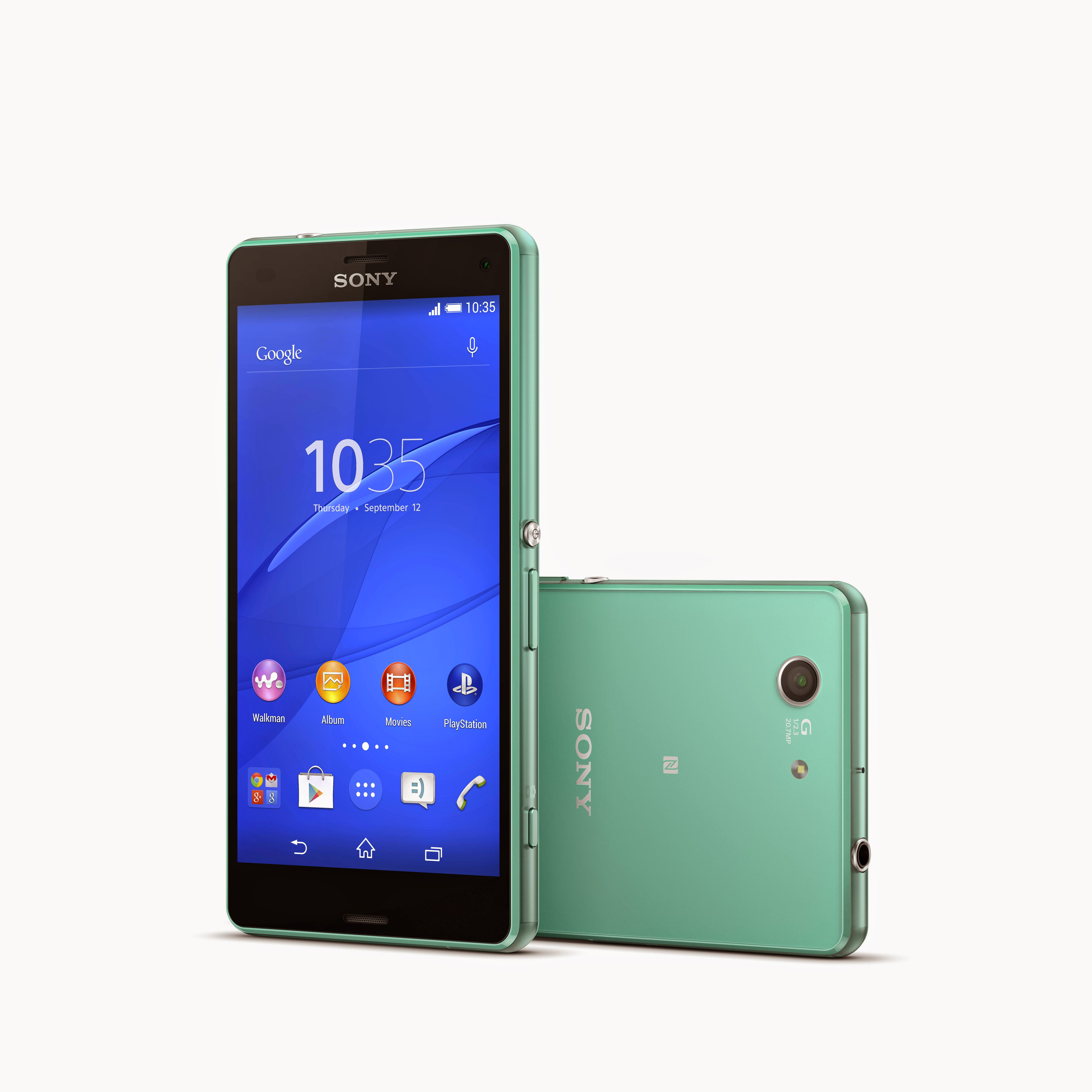 photo sony xperia z3 compact 37 green 7000 x. Black Bedroom Furniture Sets. Home Design Ideas